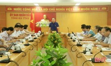 Hà Tĩnh: họp thảo luận Đề án xây dựng và triển khai bộ chỉ số đánh giá năng lực cạnh tranh cấp sở, ban, ngành và các địa phương trên địa bàn tỉnh (DDCI)