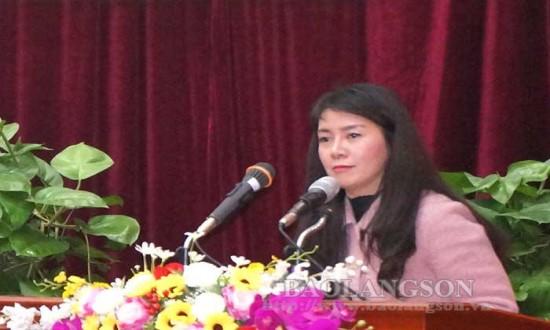 Lạng Sơn: Công bố chỉ số DDCI năm 2020
